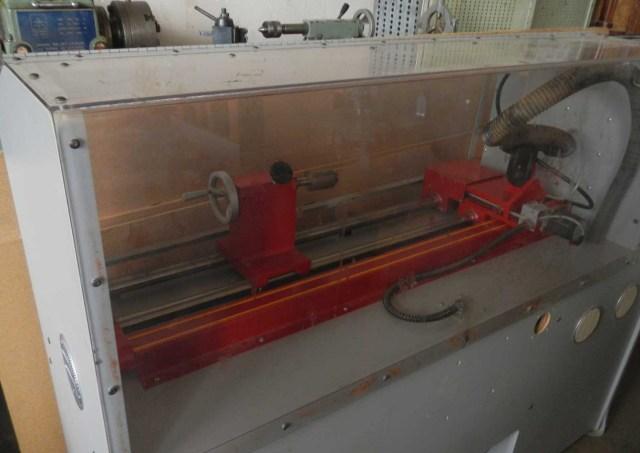 Back side of the Phoenix-EZ wood lathe