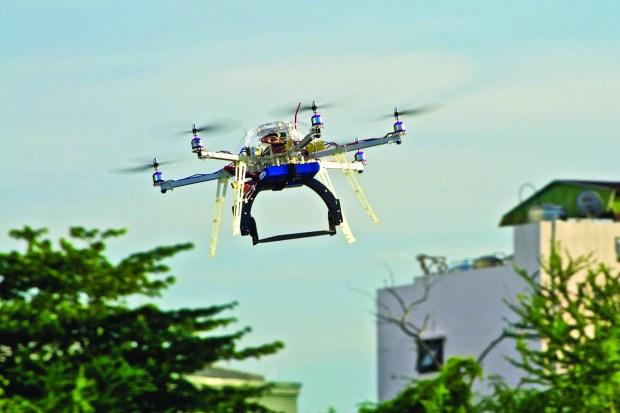 SIP_Drones_ArduCopterHexaFlying