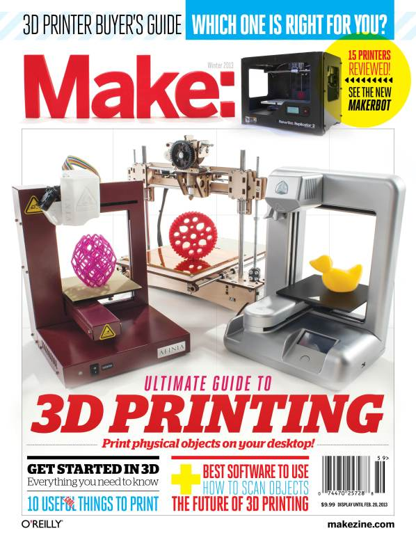 MAKE'S Ultimate Guide to 3D Printing: A Preview on Google+