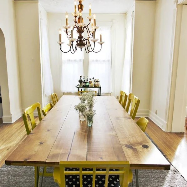 Make A Dining Room Table: Inspiration: DIY Dining Room Table