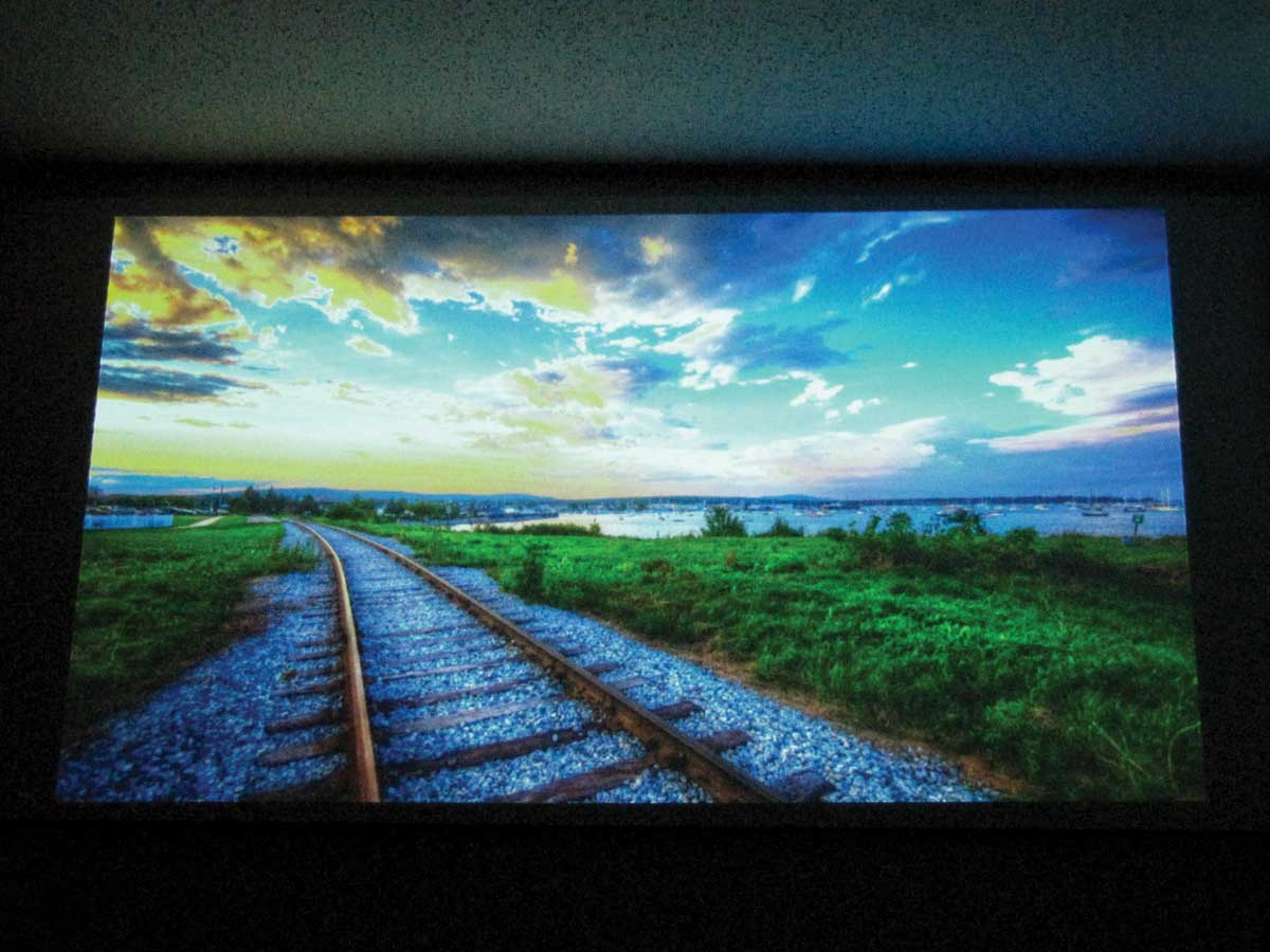 projector wall paintGlass Bead Projection Screen  Make