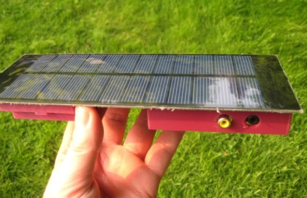 RPi Solar FTP Server Panel Side