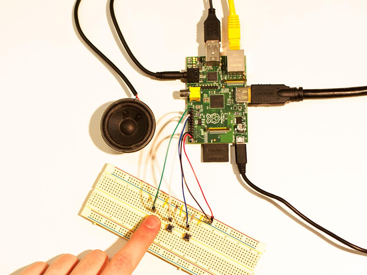 Making a Simple    Soundboard    with Raspberry Pi   Make