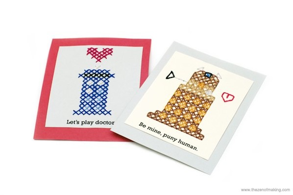 Dalek Cross-Stitch Valentines 02