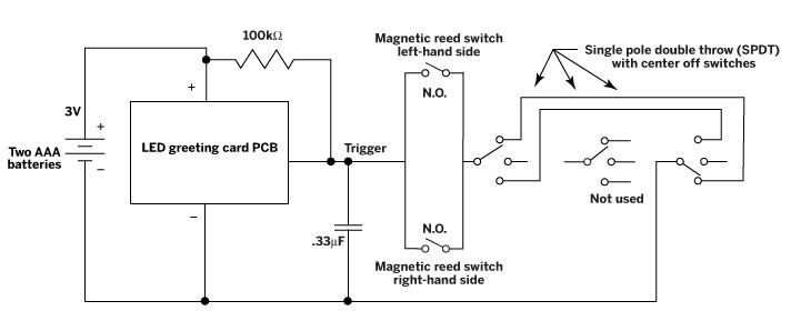 mystery electronic switch circuit