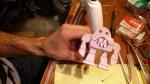 Makerfaire Robot Foam Pattern