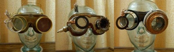 Steampunk Goggles by Tanenbaum Fabrications