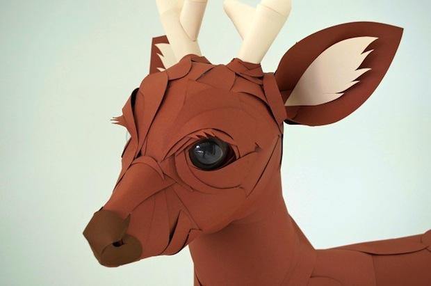 04_Paper_Sculpture_Deer_flickr_roundup
