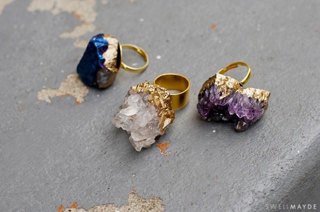 gilded geode ring-1