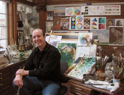 James Gurney in Studio.sm