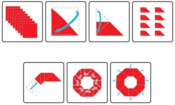 tymony origami flying disk