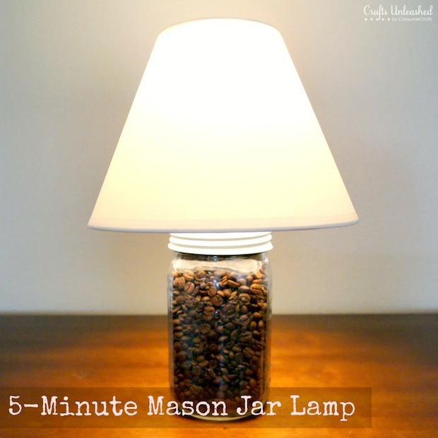craftsunleashed-5-Minute-Mason-Jar-Craft-Lamp