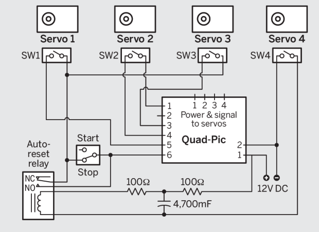 Skill Builder — Servo Controllers | Make: on programmable logic controller wiring, speed controller wiring, brake controller wiring, stepper controller wiring, flow controller wiring,