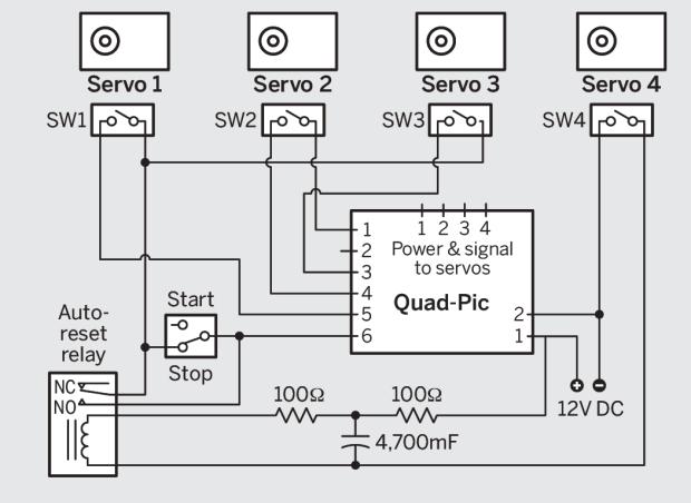 pic16f877a servo motor control