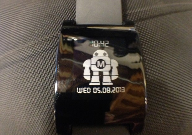 Make watchface for the Pebble (Image by Ken Denmead).