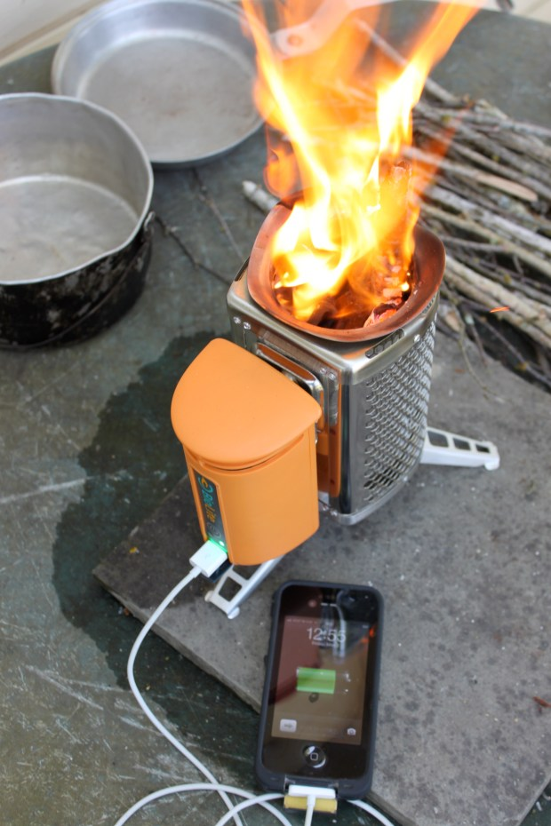Tool review biolite campstove make for Diy camp stove