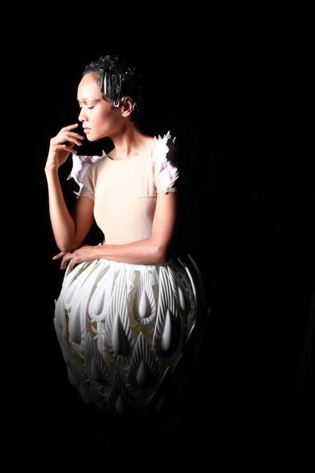 3d fashion peacock dress