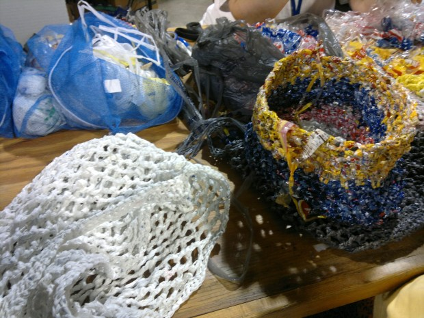 Angela Parrish's Plarning and Recycled Crochet