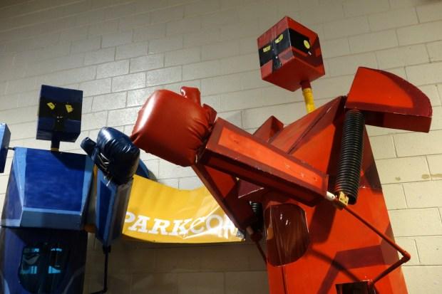 SPARKcon's Sock 'Em Robots