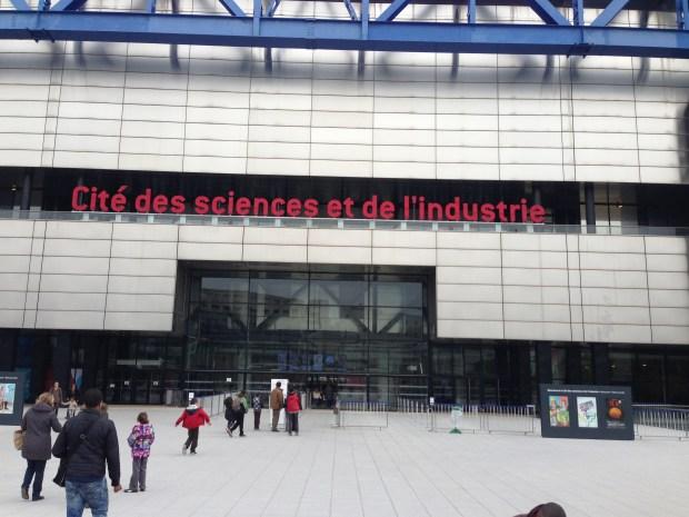 There's a Fab Lab inside the Cité des Sciences et de l'Industrie