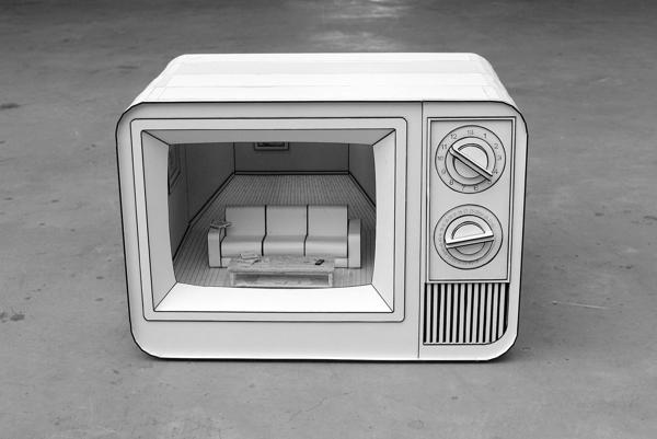 Papercraft Dioramas Inside Papercraft Electronics | Make: