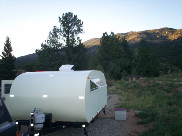How And Why I Built My Own Teardrop Camper Trailer Make