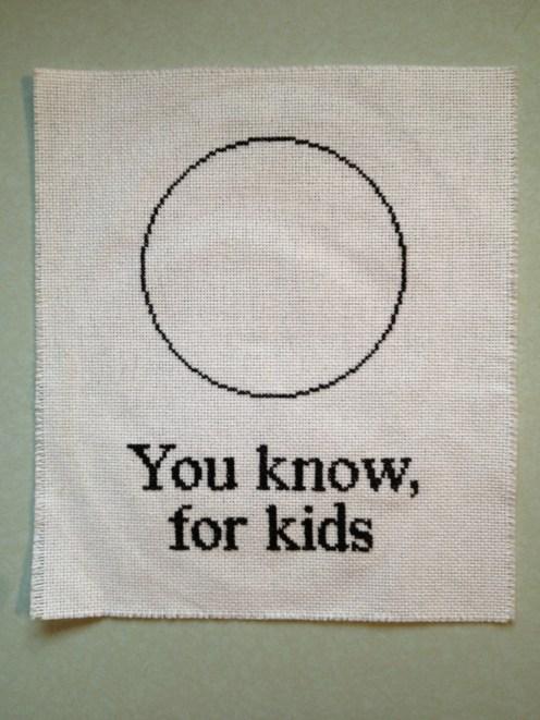 An idea I borrowed from The Hudsucker Proxy: You Know, For Kids. Photo: Jenny Williams