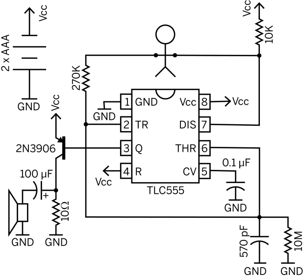 Drawdio Schematic