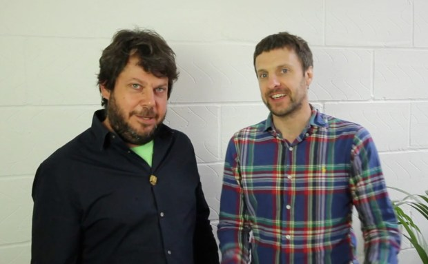 Daniel Charny and James Carrigan, founders of Fixperts