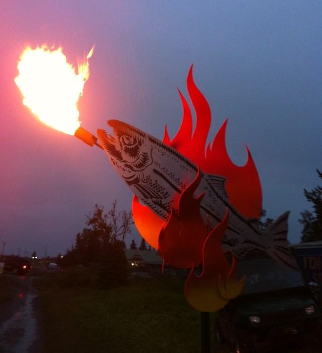 Hans Vogel Ray Troll Salmon 2