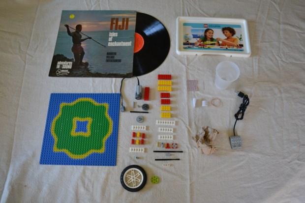 LEGO Phonograph Materials