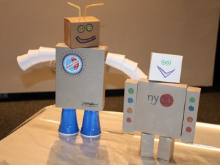 How to make a robot out of cardboard