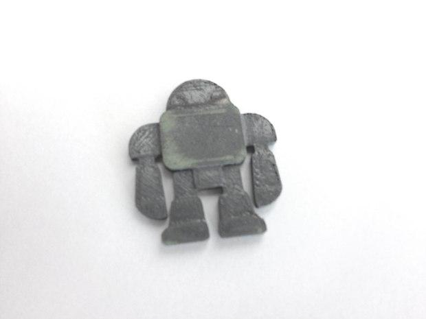 Custom Robot Keychains with Easy Moldmaking