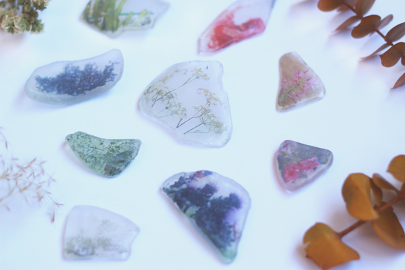 DIY Beach Glass Photo Transfer