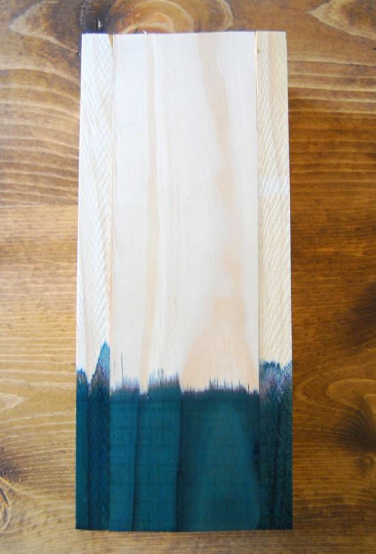 Dip dyed vase-2
