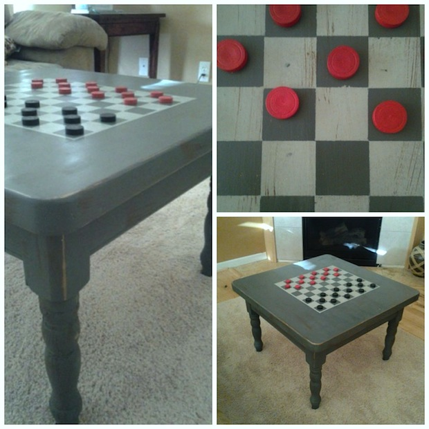 Superbe Dorothysueandmillieb_checkerboard_table_01.  Dorothysueandmillieb_checkerboard_table_01. Turn A Thrifted Coffee Table ...
