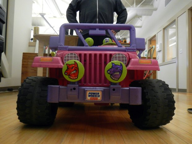 From Barbie To Badass The Make Lab Rats Transform A Power Wheels