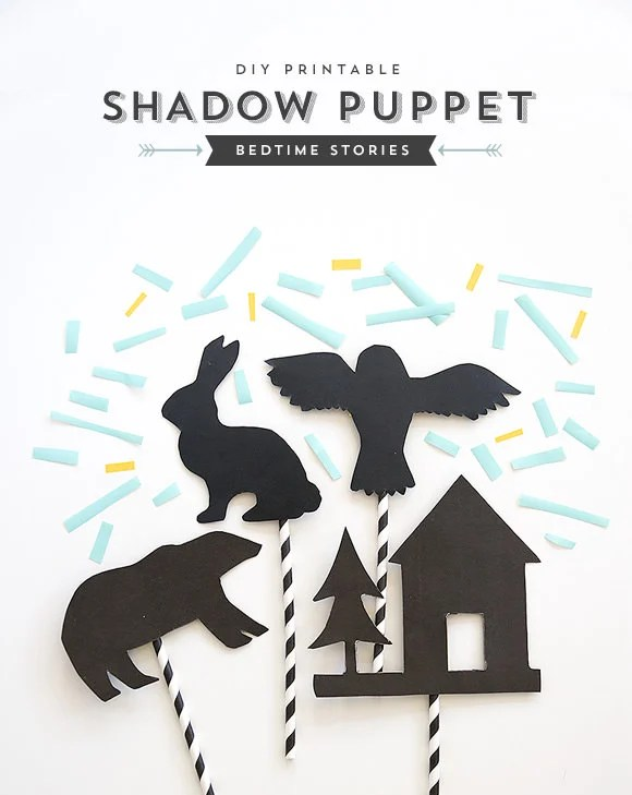 How to bedtime story shadow puppets make for Free shadow puppet templates