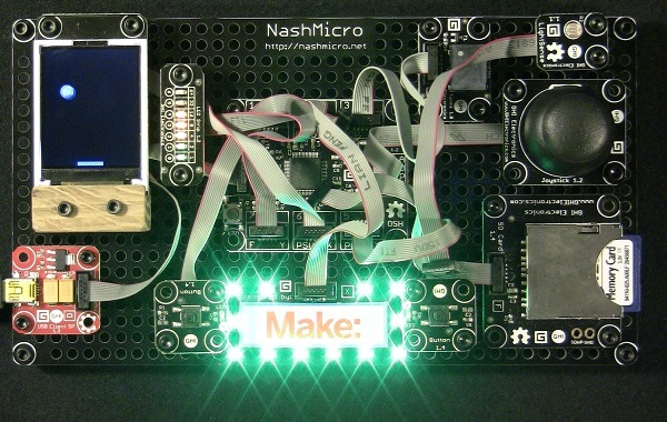 NashMicro SponsorBoard Module (Make was not an actual sponsor)