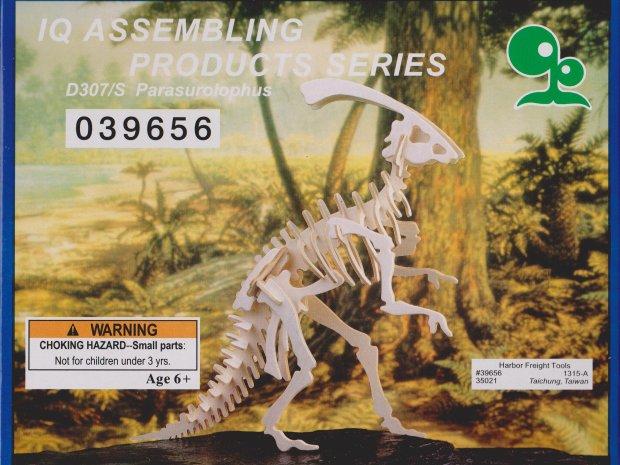 Giant Cardboard Dinosaur Puzzle