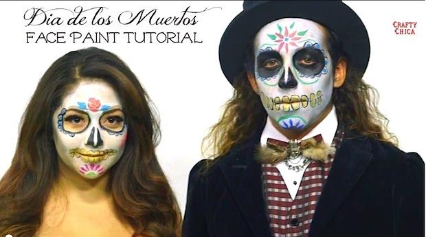 craftychica_sugar_skull_face_paint