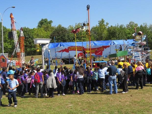 Giant Mousetrap is a Maker Faire crowd favorite.