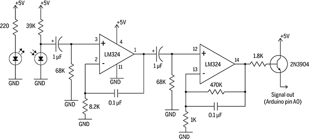 Pulse length detector circuit