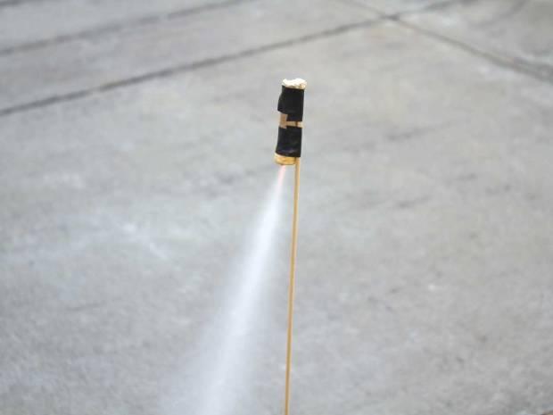 Homemade Sugar Rocket