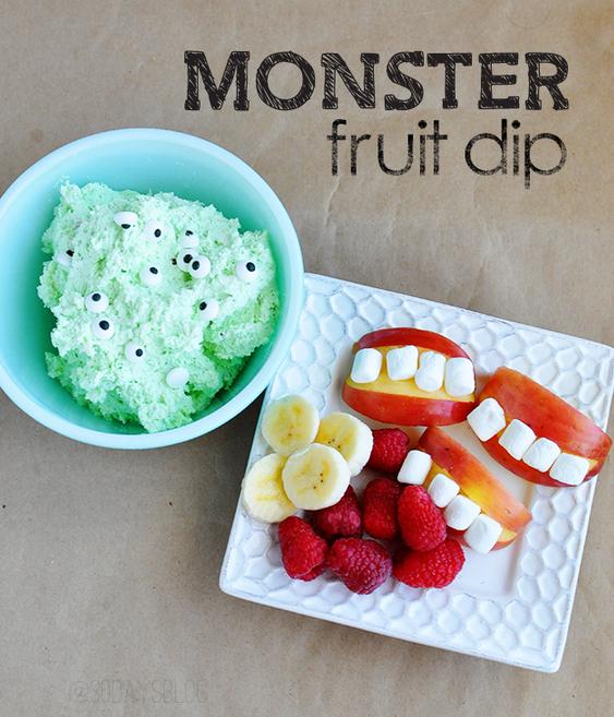 monster fruit dip