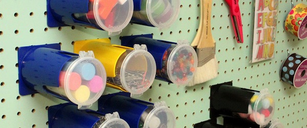 Smart Jars for storing stuff.