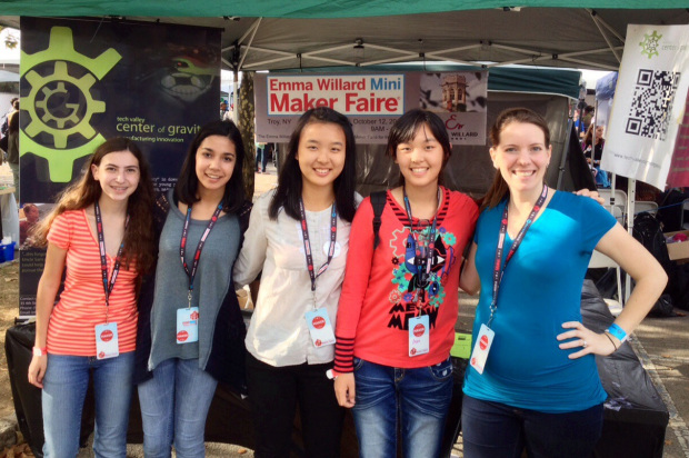 emma willard students at mfny