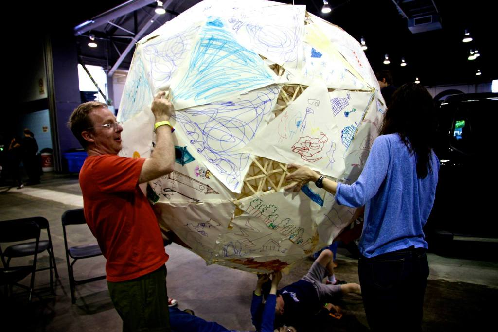 giant paper ball