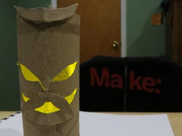 Easy Halloween Tiki Lantern