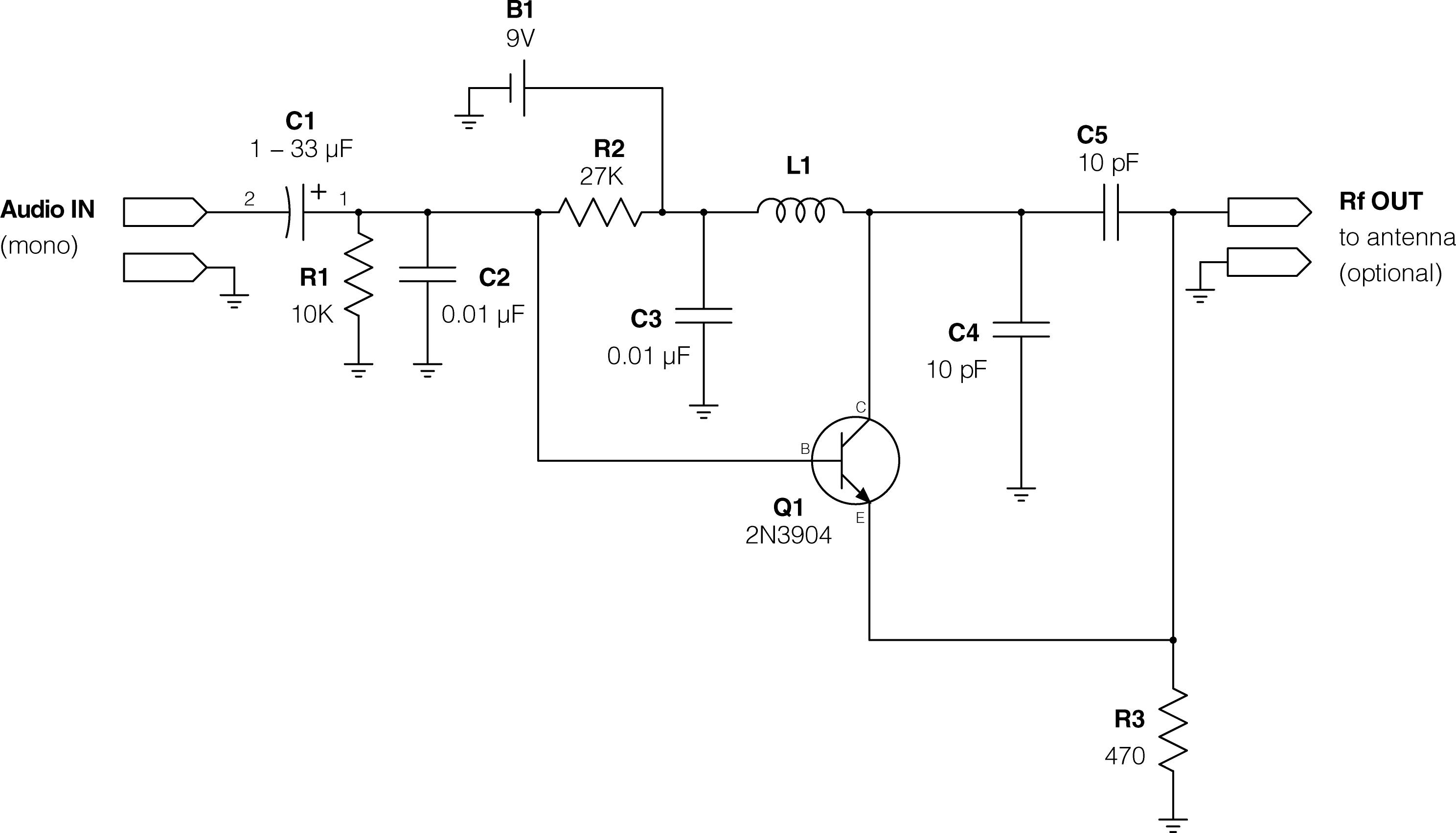 Simple Fm Transmitter Circuit Diagram 37 Wiring Images Wireless Microphone By Max4467 Kogawa Simplest Transmitterresize6202c354 Super Ipod Make